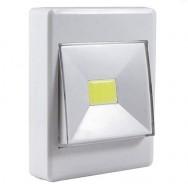 Светильник-выключатель (на магните или на липучке) на батарейках Led