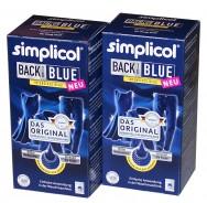 Краска для окрашивания и восстановления цвета одежды в стиральной машине (синий), SIMPLICOL Back-to-Blue 750 гр