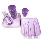 Набор пластиковой посуды для пикника на 6 человек Bonny Gondol