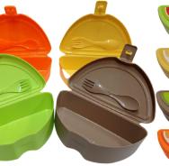 Контейнер для еды (апельсин).Gondol Plastik